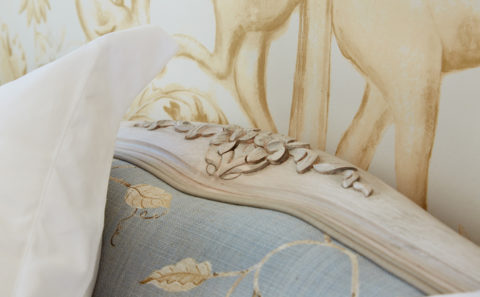 Upholstered Wooden Bed