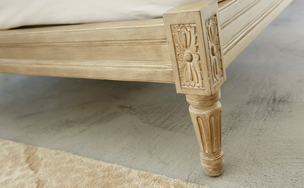 Louis XVI Upholstered Detail 2
