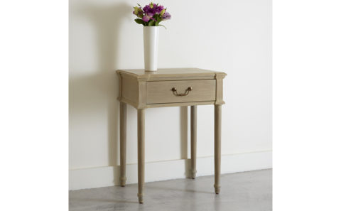 Miscombe single drawer bedside table