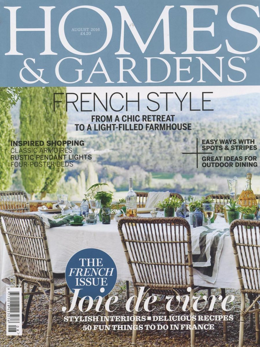 Homes & Gardens August 2016