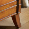 Olivier Detail 2Olivier - Luxury Wooden Lit bateu sleigh bed