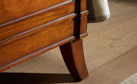 Olivier - Luxury Wooden Lit bateu sleigh bed