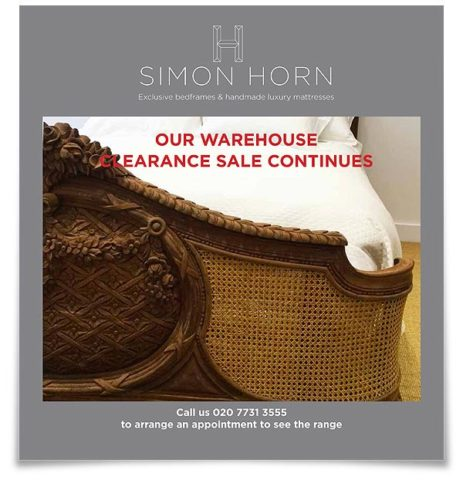 Simon Horn Clearance Brochure April 2017