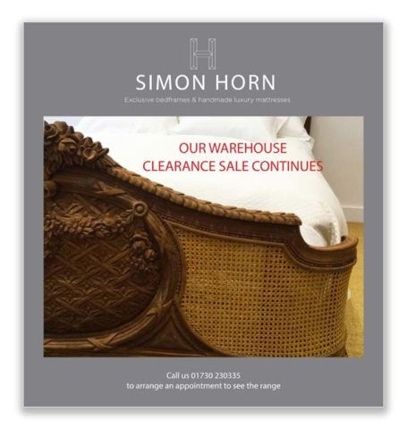 Simon Horn Clearance Brochure October 2017