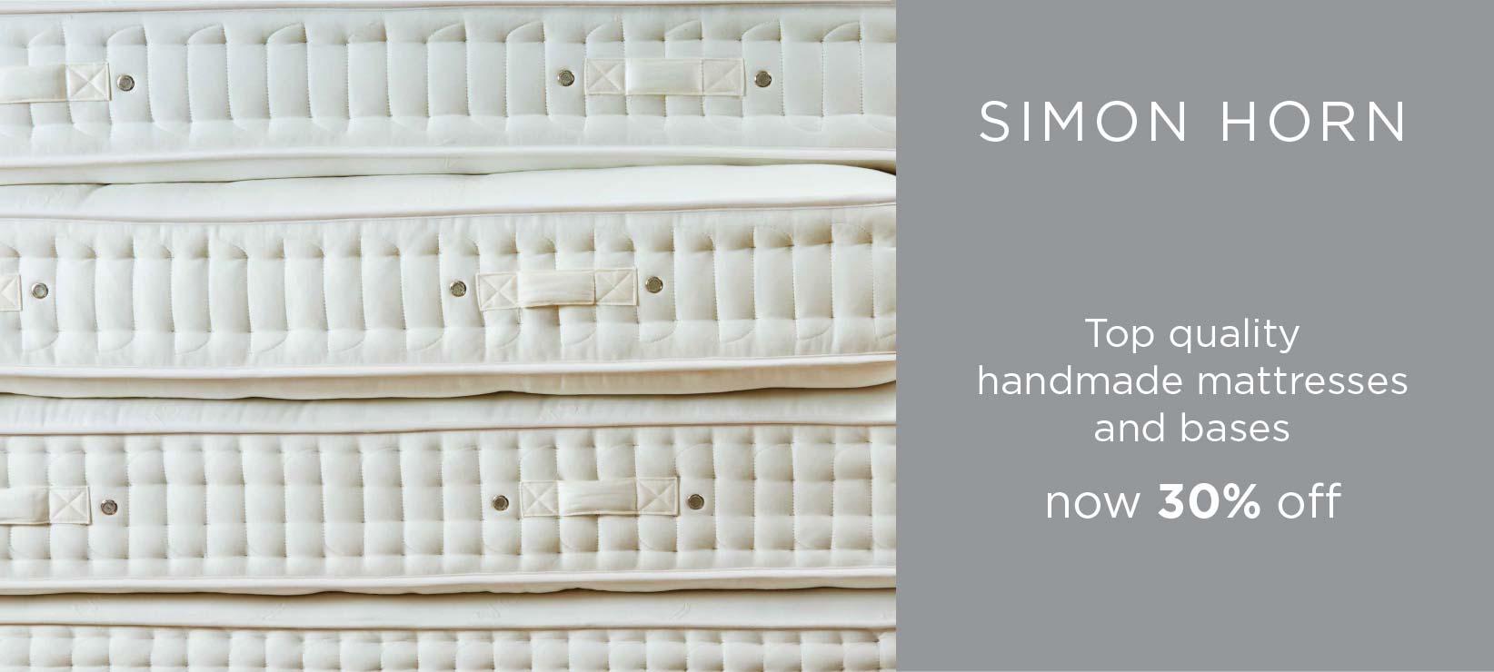 30% Off Top Quality Handmade Simon Horn Mattresses