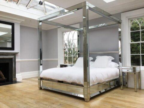 Simon Horn Lamour Fourposter Mirror Bed