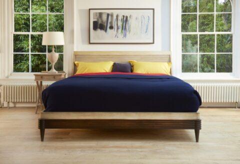 Simon Horn Modena Modern Sleigh Bed
