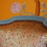 Detail of upholstered chair by Simon Horn Furniture