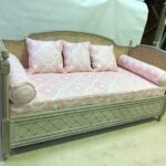 A double sofa bed in Louis XVI style by Simon Horn Furniture