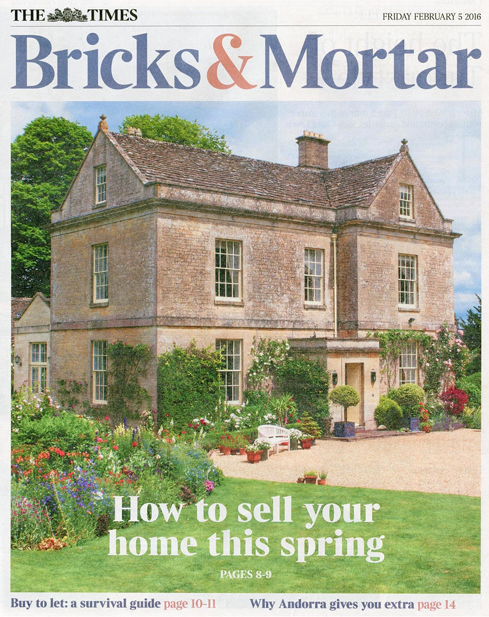 The Times Bricks & Mortar 5 February 2016