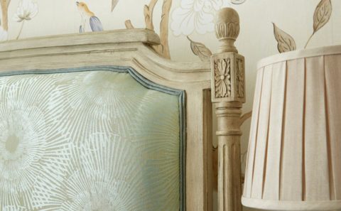 Louis XVI Upholstered Detail 1