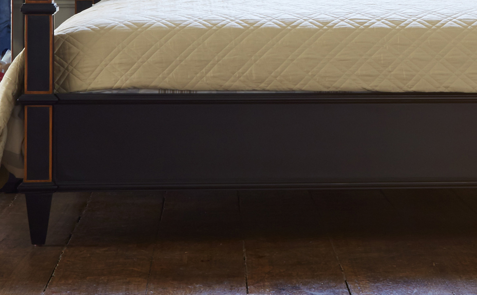 Wooden Four Poster Bed