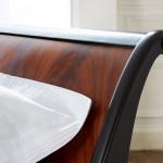Luxury Wooden Sleigh Bed