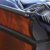 Luxury Wooden Sleigh Bed