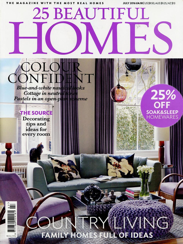 25 Beautiful Homes July 2016