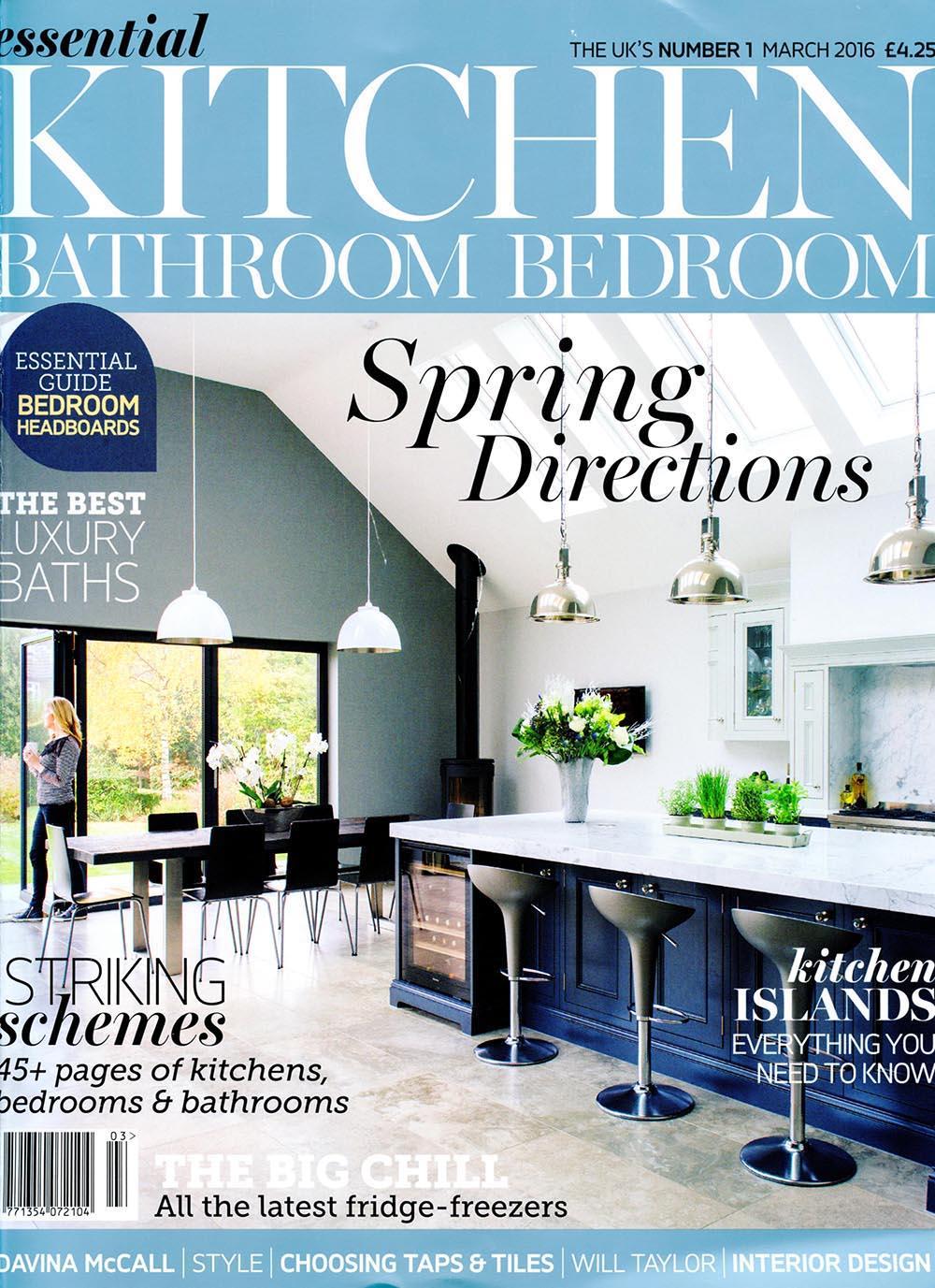 Essential Kitchen Bathroom Bedroom March 2016