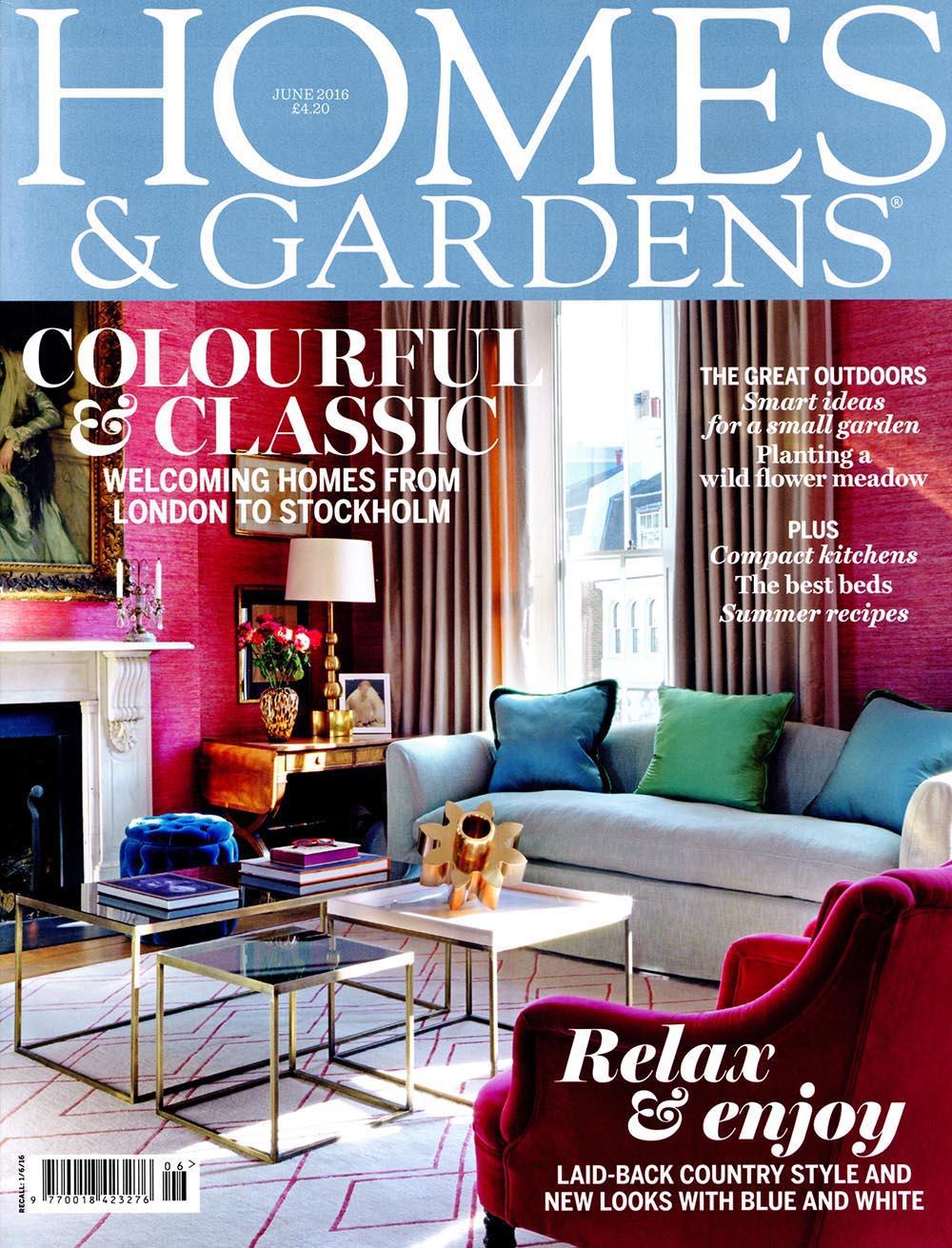 Homes & Gardens June 2016