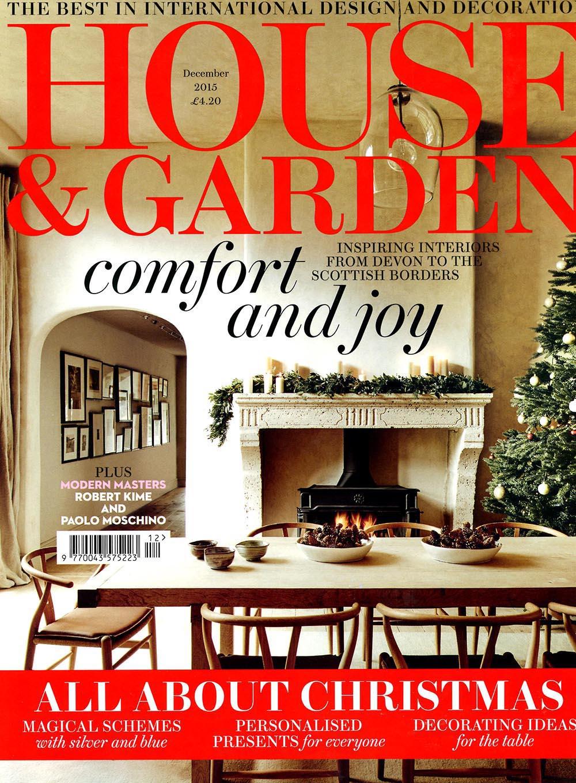 House And Garden December 2015