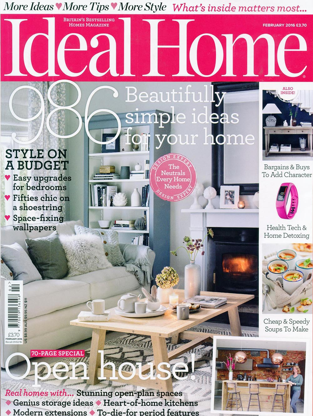 Ideal Home February 2016
