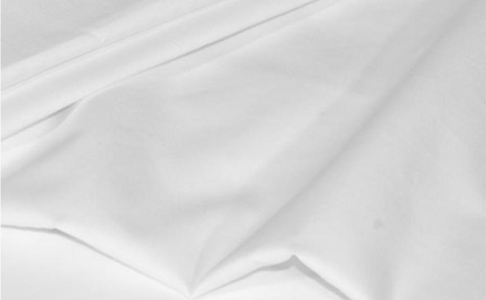 Flat Bottom Sheet Cotton Satin
