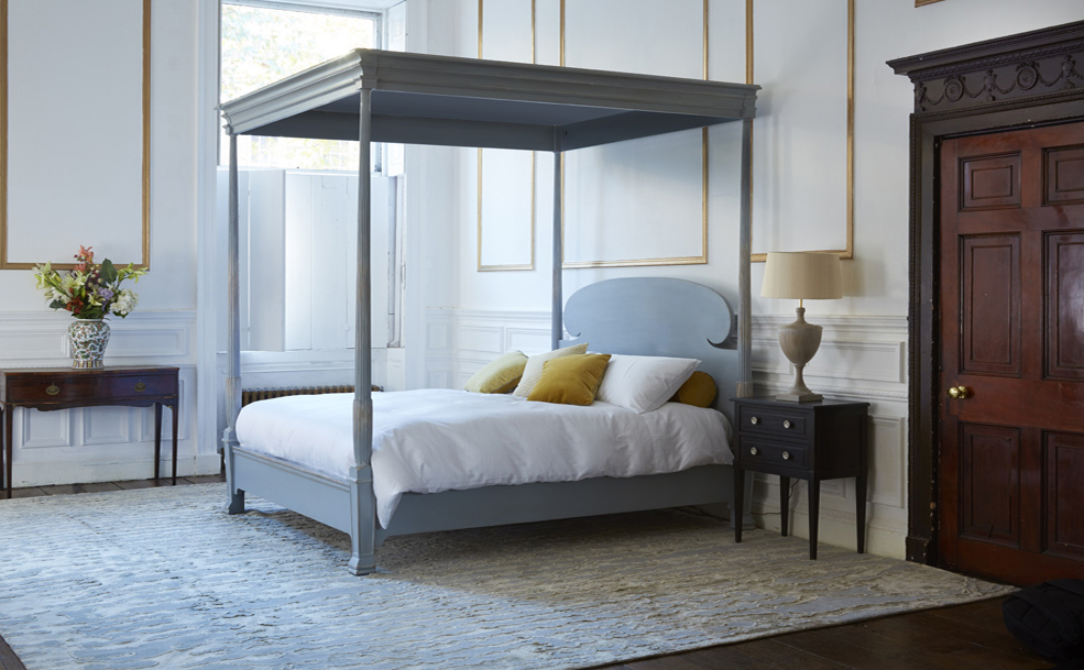 Luxury Poster Beds reeded luxury four poster bed - luxury beds - simon horn