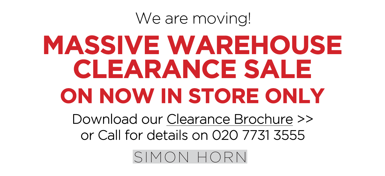 Simon Horn Massive Warehouse Clearance Sale