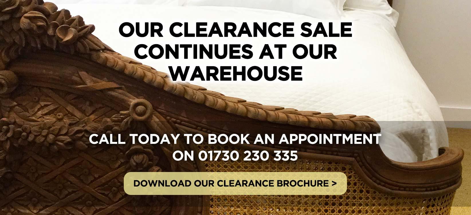Simon Horn Clerance Brochure