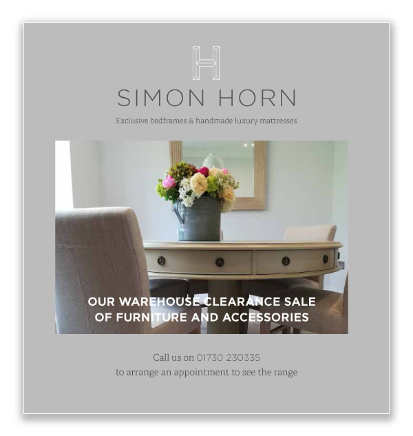 Simon Horn Furniture Clearance Brochure May 2018