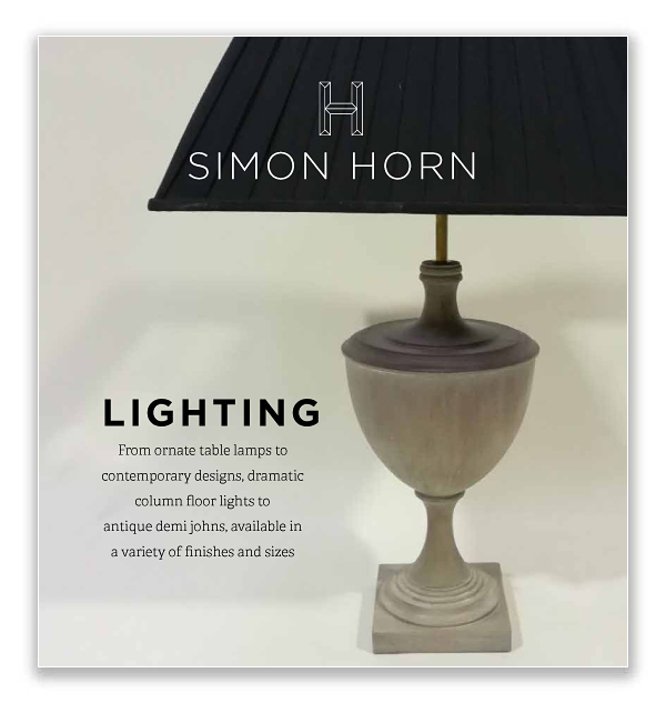 Simon Horn Lighting Clearance Brochure May 2018