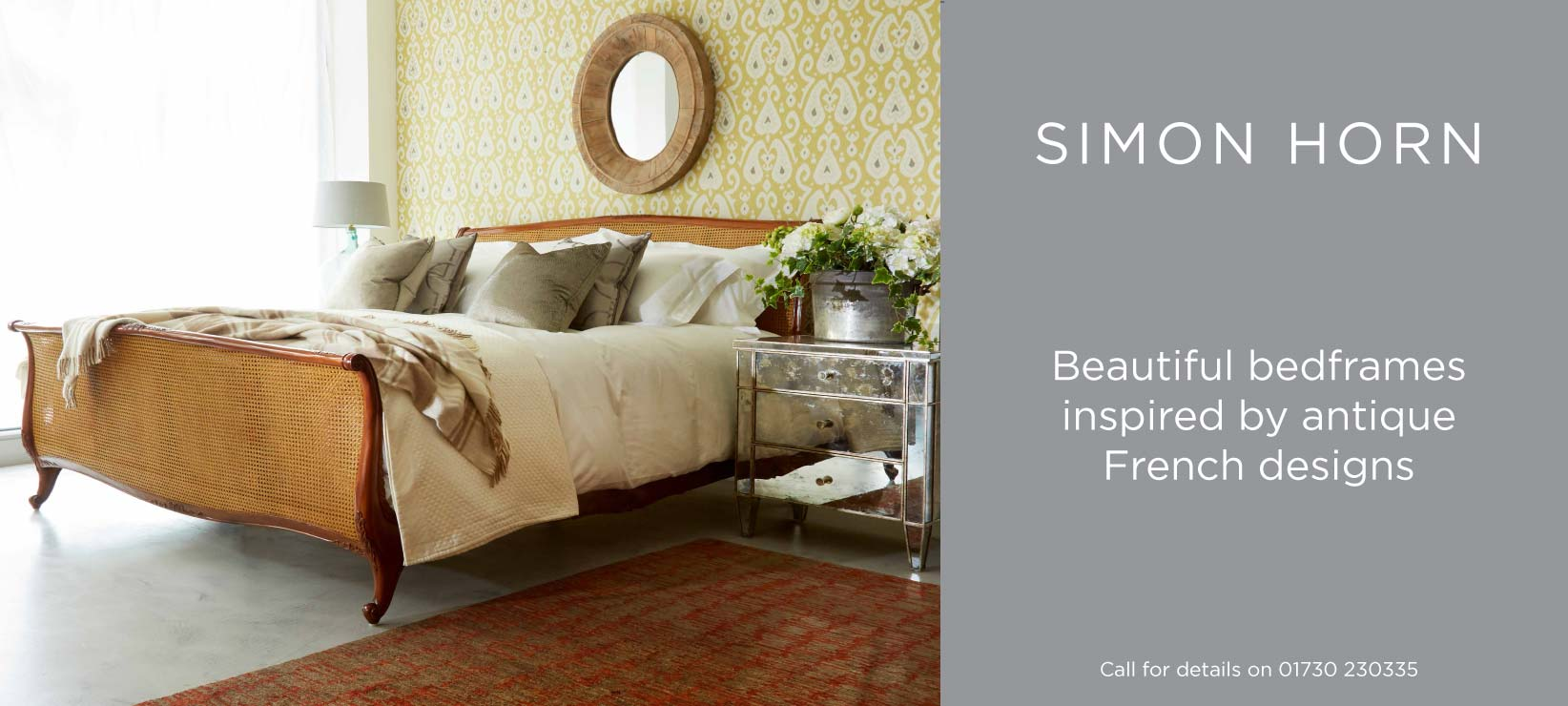 Beautiful Bedframes Inspired By Antique French Designs Simon Horn