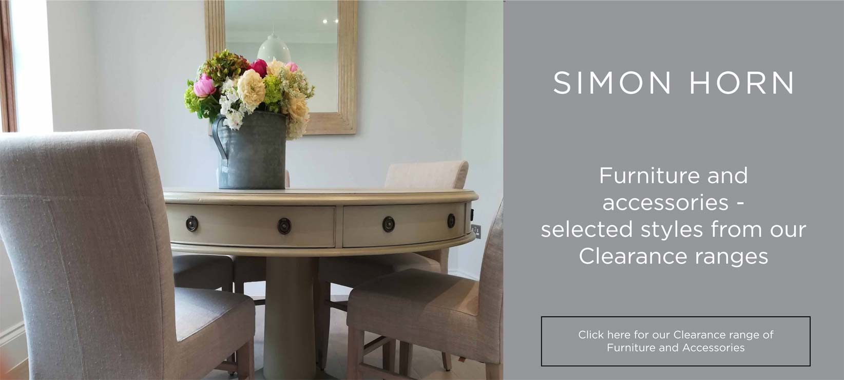 Clearance Sale Furniture And Accessories Simon Horn