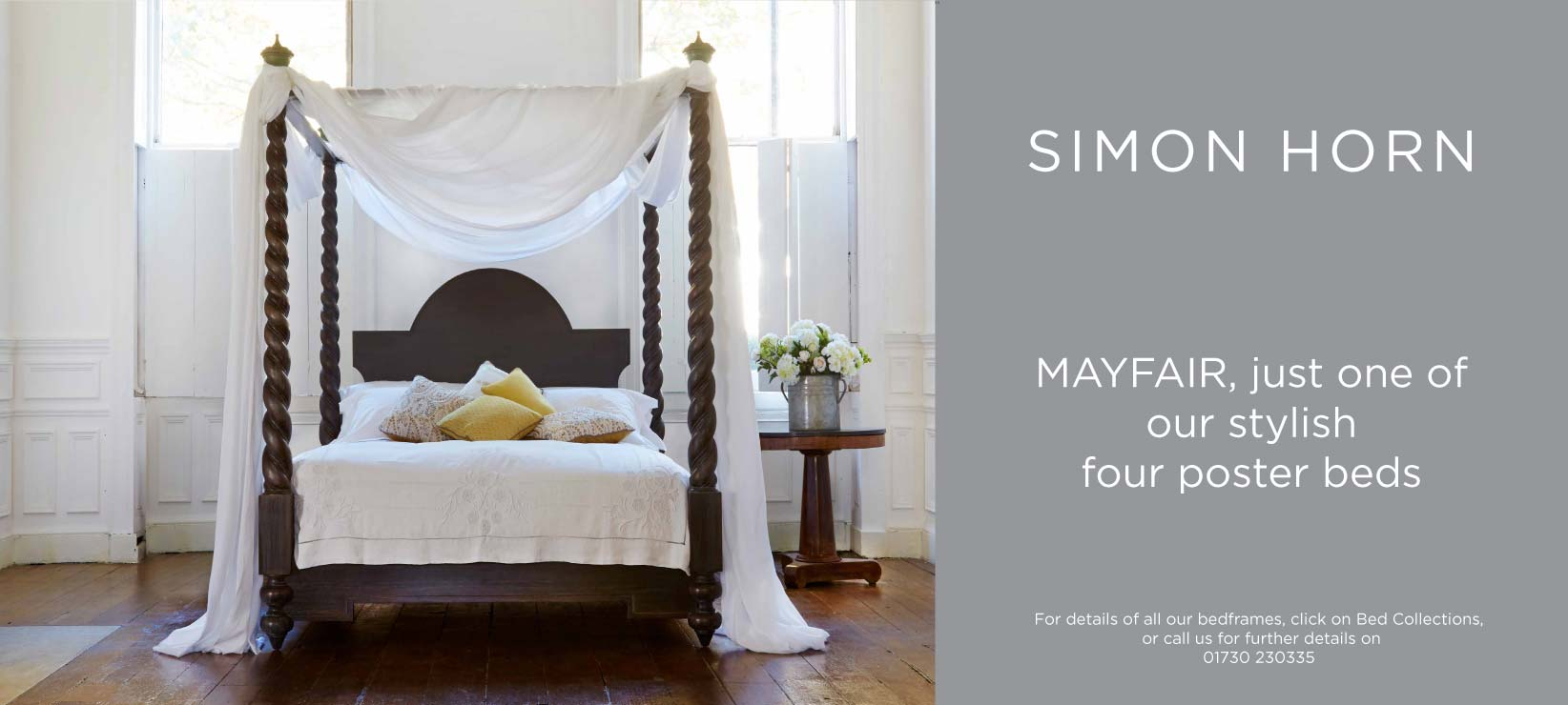 Mayfair Four Poster Bed Simon Horn