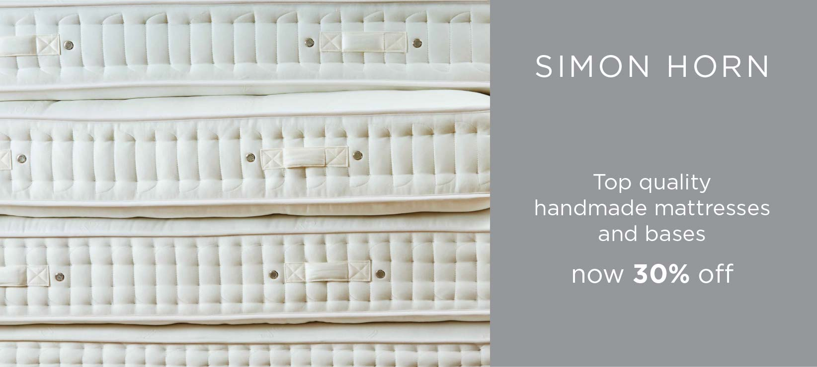 30% Off Top Quality Handmade Simon Horn Mattresses